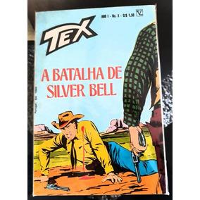 Tex N° 03 A Batalha De Silver Bell 1° Ed. Excelente Original