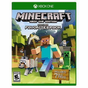 Jogo Minecraft Favorites Pack Xbox One
