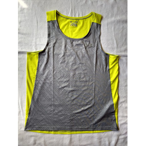 Musculosa Under Armour Microfibra Coolswitch Run Singlet Gri