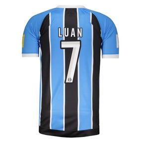 793cd665e3 Camisa Umbro Grêmio I 2017 Mundial 7 Luan Com Patch
