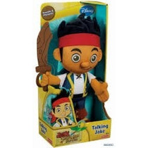 Jake Fisher Price Fala (piratas Da Terra Do Nunca)