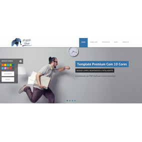 Site Script Php Institucional Empresa Comércio Administravél