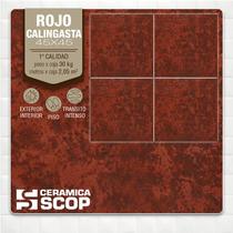 Cerámica Scop Rojo Calingasta 33x33 1ra.calidad - La Plata
