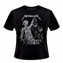 Camiseta Banda Metallica And Justice For All