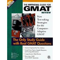The Official Guide For Gmat Review The Only Study Guide - Na
