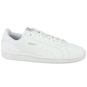 Tenis Puma Smash Blanco Hombre 100% Originales 35675324