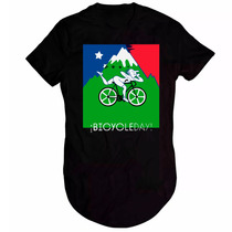 Camiseta Long Line Bicycleday T-shirt Rave Doce Vibe Bala