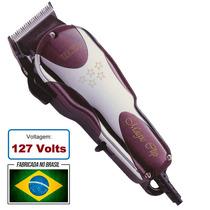 Maquina Cortar Cabelo Wahl Magic Clip V9000 110v Fab. Brasil