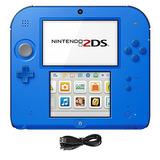 Nintendo 2ds 2 Items Paquete Nintendo 2ds-eléctrico Azul 2