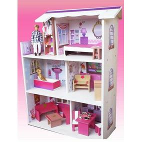 Casas De Muñecas Barbie Casita Juguete Liquidación Total!!