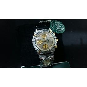 273fce44ee1 Relógio Polo Club Beverly Hills Aço E Plaque Ouro Único Ml