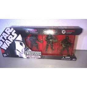 Star Wars Evolutions 3 Pack: Clone Trooper To Stormtrooper