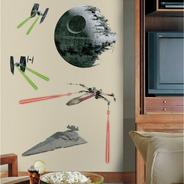 Adesivo De Parede Saga Star Wars Oficial Estrela Da Morte