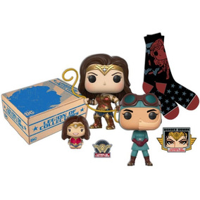 Legion Of Collectors Wonder Woman Medias Funko Pop Parche