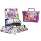 Set Valija Decoracion Princesita Sofia Lic Original Disney