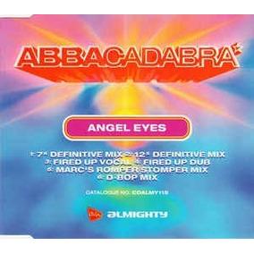 Cd Single Abbacadabra , Angel Eyes