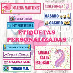 Etiquetas Sticker Parches Para Pegar Escolar Diseños