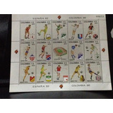 Estampillas Mundial Colombia 86