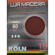 Paq X 15 Lija Madera Koln - 60-80-100-120-150-180-220