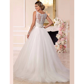 Vestido De Noiva 2 Em 1 Lindo Casamento Pronta Entrega