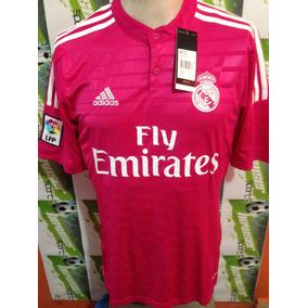 Jersey adidas Real Madrid 100% Original 2014-2015 Rosa