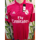 Jersey adidas Real Madrid 100% Original 2014-2015 Rosa