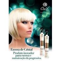 Escova De Cristal Redução De Volumes Onix Liss 500ml