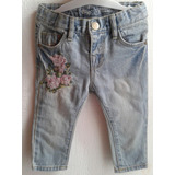 Jeans Zara Baby Girl Talle 3-6 Meses Nuevo!