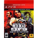 Red Dead Redemption Playstation 3 Ps3 Edicion Juego Del Año