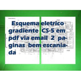 Esquema Eletrico Gradiente Cs5 Cs-5 Em Pdf Via Email