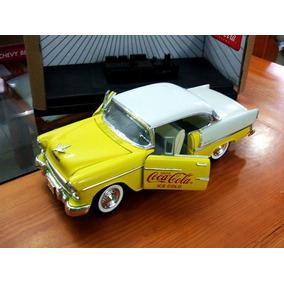 1955 Chevy Bel Air Coca Cola Escala 1/18 Johnny Lightning