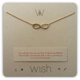 Joyas Dulcementa Wish Whclcd028o Collar Cadena Oro Infinito