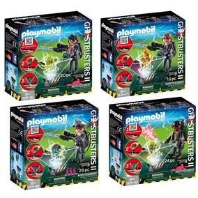 Set De 4 Figuras De Cazafantasmas 2 Nueva Linea Playmobil