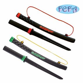 Espada Samurai Ninja Brinquedo Infantil 58 Cm - 2 Unidades