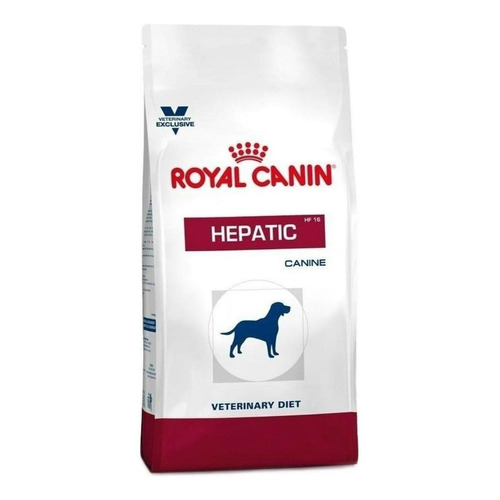 Ração Royal Canin Hepatic Veterinary Diet Canine cachorro adulto mix 2kg