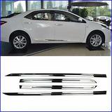 Para Toyota Corolla 2014-2016 Inox Cuerpo Puerta Lateral...