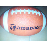 Balon De Futball Americano En Perfecto Estado Tamanaco