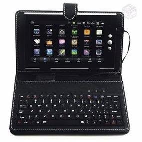 Capa Case Teclado Usb V8 Tablet 7 Dl Cce Phaser Asus