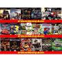 Carros Disney Play 2 (kit 18 Jogos Ps2 Mcqueen