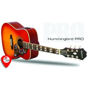 Violão Epiphone Hummingbird Pro Elétrico Folk - Frete Grátis