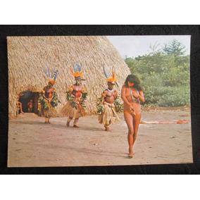 Portal Antigo Índios Do Brasil Dança Do Cemitério Kamaiurá
