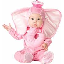 Disfraz De Bebes Elefante Primavera Rosa Niñas Disfraces