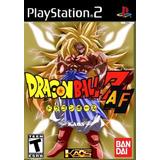 Dragon Ball Z Af Ps2 Sony Playstation 2