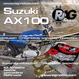 Suzuki Ax 100 Kit Arrastre Gaviria Repuestos Motos Accesorio