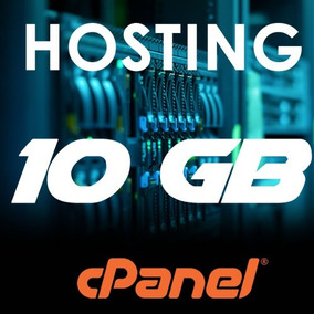 Web Hosting Hospedaje Cpanel 10 Gb + Dominio .ve Por 1 Mes