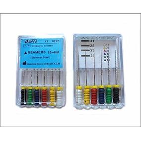 Denco 15-40. 21mm * 6 Pc Por Paquete Lima De Endodoncia Médi