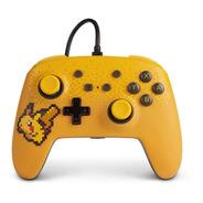 Joystick Powera Con Cable Nintendo Switch Pikachu Original