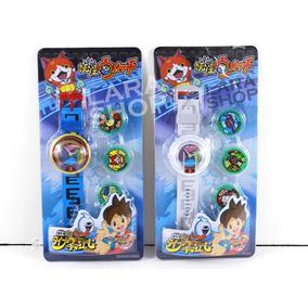 Reloj Yokai Watch 3 Medallas Yo-kai