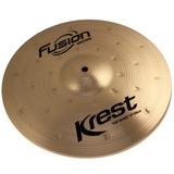 Prato Chimbal Krest Hi Hat 14 Polegadas Fusion Bronze B8 Hh