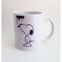 Taza Snoopy Personalizada Para Cafe Ceramica Regalo Recuerdo